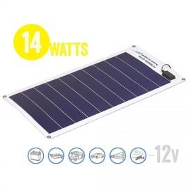 Panel Solar Flexible A Prueba De Agua Solar Marine 14 Watt, 12V