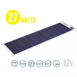 Panel Solar Flexible A Prueba De Agua Solar Marine 27 Watt, 12V