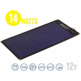 Panel Solar Semi Flexible Solar Board 14 Watt, 12V