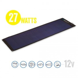 Panel Solar Semi Flexible Solar Board 27 Watt, 12V